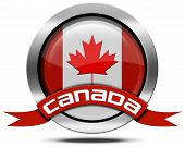 Canada Flag - Metal Icon