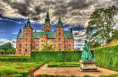 picture of copenhagen  - The Rosenborg Castle in Copenhagen  - JPG