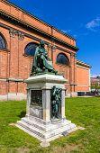 pic of copenhagen  - Statue of Asmus Jacob Carstens in Copenhagen Denmark - JPG