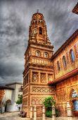 Torre d'utebo (zaragoza) in poble espanyol, barcelona pic.