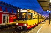 image of railroad yard  - Tram - JPG