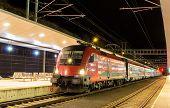 foto of high-speed  - Austrian high speed train at Feldkirch station - JPG