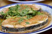 Mock Fish Made For Vegetarian