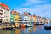 Denmark. Copenhagen. Nyhavn (New Harbour)