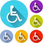 Wheelchair Icons