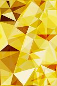 Vector low poly abstract background