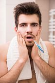 picture of tooth  - Morning routine of washing the teeth - JPG