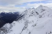 picture of sochi  - Peak Stone Pillar in Rosa Khutor Alpine Resort in Sochi - JPG
