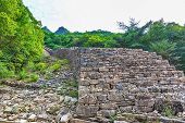 Stone Wall Monument In Korea