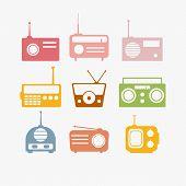 Radio Isolated Objects Set