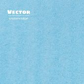 Vector Blue Watercolor Background