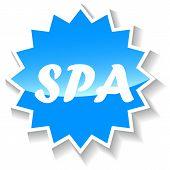 Spa blue icon