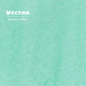Vector Light Green Watercolor Background