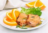 Pork Chop With Orange Sauce