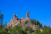 Rock Formation At Roque Nublo, Gran Canaria