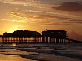 The Silhouetted Pier