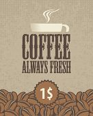 Always fresh coffee