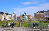 Denmark. Copenhagen. Kongens Nytorv Square