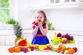 Little Girl Eating Water Melon