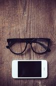 Smartphone And Reading Glasses