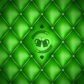 Patrick day beer menu background