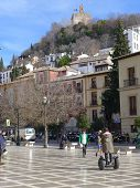 Santa Ana Square, Albaycin