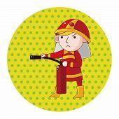 pic of fireman  - Fireman Theme Elements - JPG