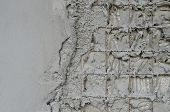 picture of reinforcing  - Technology reinforced concrete walls within the styrofoam - JPG