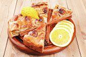 foto of cinnamon sticks  - baked food  - JPG
