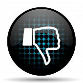 image of dislike  - dislike icon thumb down sign - JPG