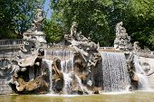 image of turin  - Fountain of the Twelve Months in Turin Italy - JPG