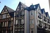 Timbered Houses In Cochem, Germany