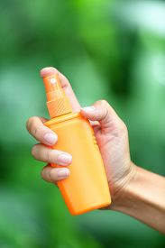 image of spayed  - Mosquito repellent - JPG