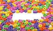 Cartas multicolor