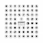 Icon Set - White Series