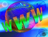 Www  World Wide Web With Earth And  Space