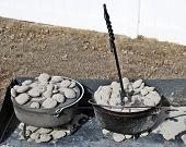 Aluminum and Cast Iron Dutch Ovens