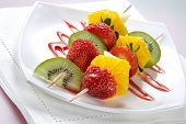 Fruit Allsorts On Skewers