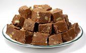 Chocolate Fudge With Nuts