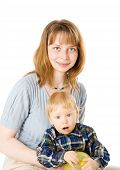 Mãe com filho