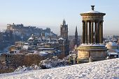 Edinburgh Winter City View