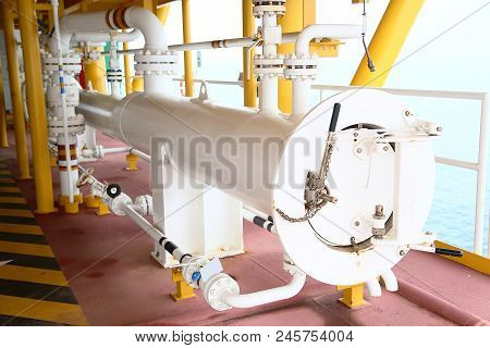 poster of Pig Launcher In Oil And Gas Industry, Cleaning Pipe Line Equipment In Oil And Gas Industry, Clean Up