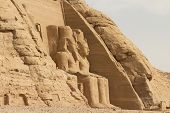 picture of aswan dam  - The temple of Ramses II - JPG