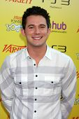 LOS ANGELES - OCT 22:  Justin WIllman arriving at the 2011 Variety Power of Youth Evemt at the Paramount Studios on October 22, 2011 in Los Angeles, CA