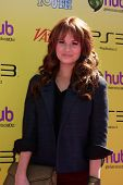 LOS ANGELES - OCT 22:  Debby Ryan arriving at the 2011 Variety Power of Youth Evemt at the Paramount