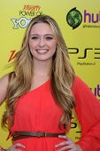LOS ANGELES - OCT 22:  Greer Grammer arriving at the 2011 Variety Power of Youth Evemt at the Paramo