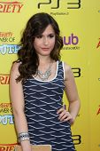 LOS ANGELES - OCT 22:  Erin Sanders arriving at the 2011 Variety Power of Youth Evemt at the Paramou