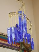 Glass Wind Chime poster