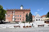 Main Square in Sandomierz, Poland