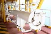Pig Launcher In Oil And Gas Industry, Cleaning Pipe Line Equipment In Oil And Gas Industry, Clean Up poster
